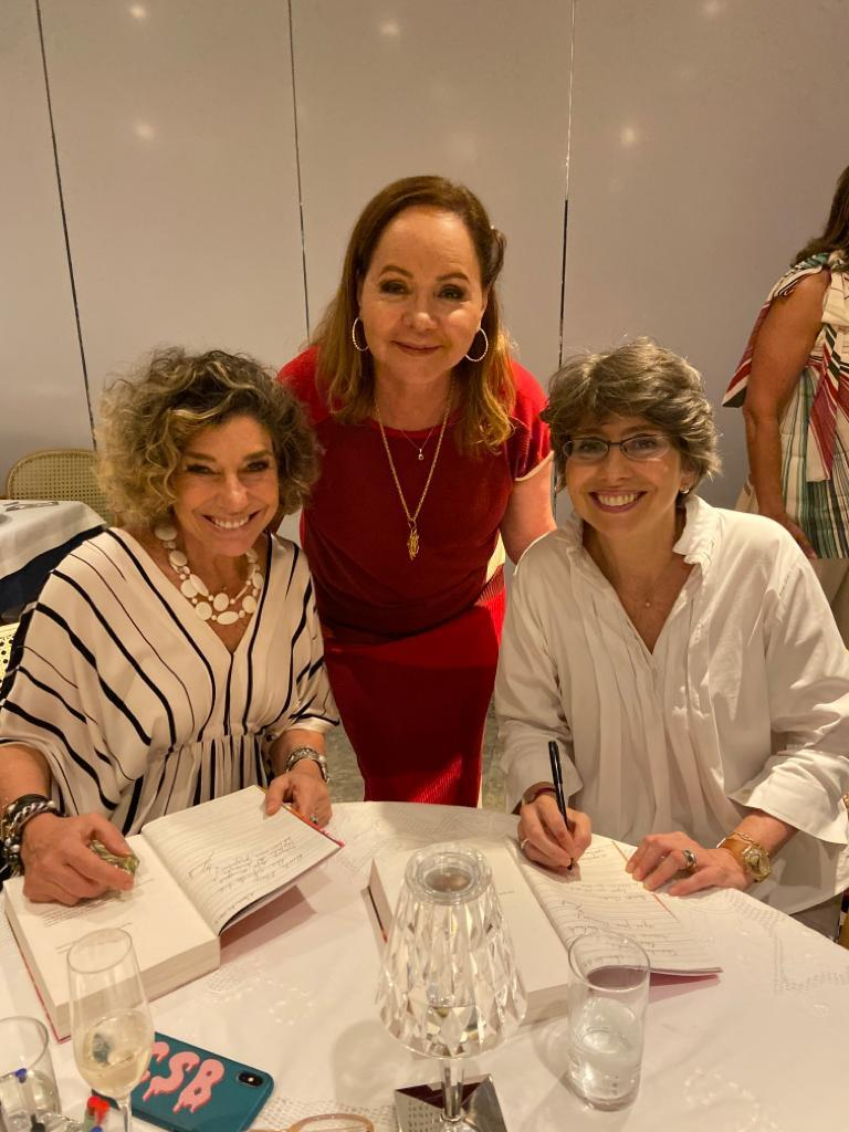 Consuelo Blocker, Eliane Kruschewsky e Alessandra Blocker
