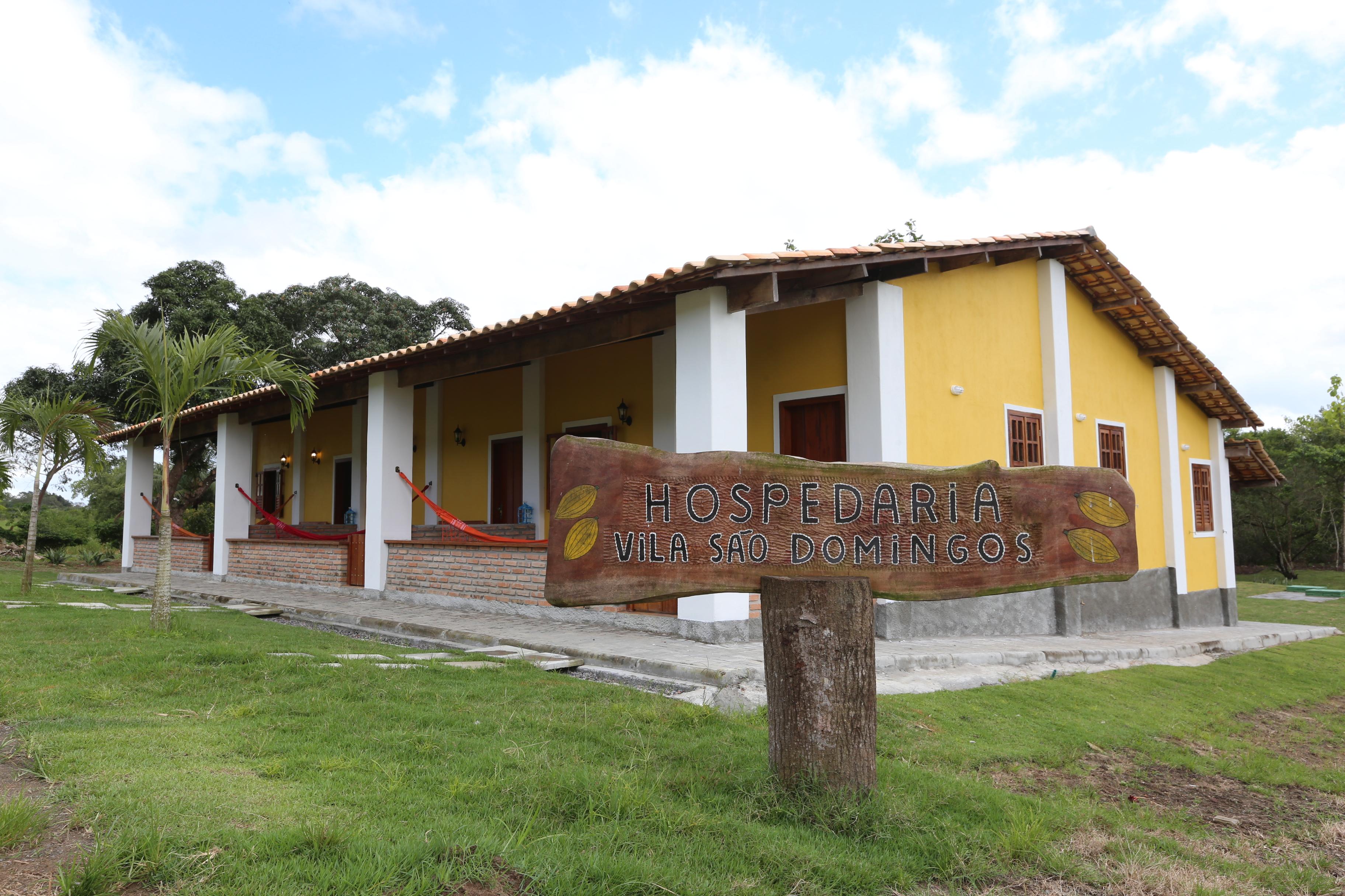 Hospedaria funciona dentro da Fazenda Engenho D´Água em São Francisco do Conde, recôncavo baiano.