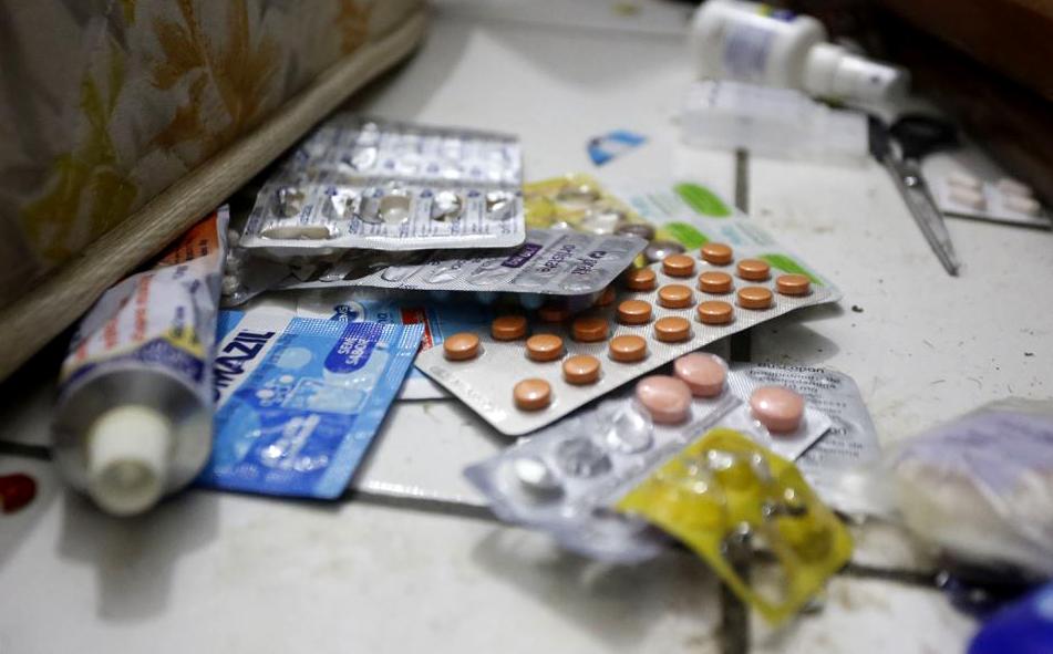 Os remédios do miliciano