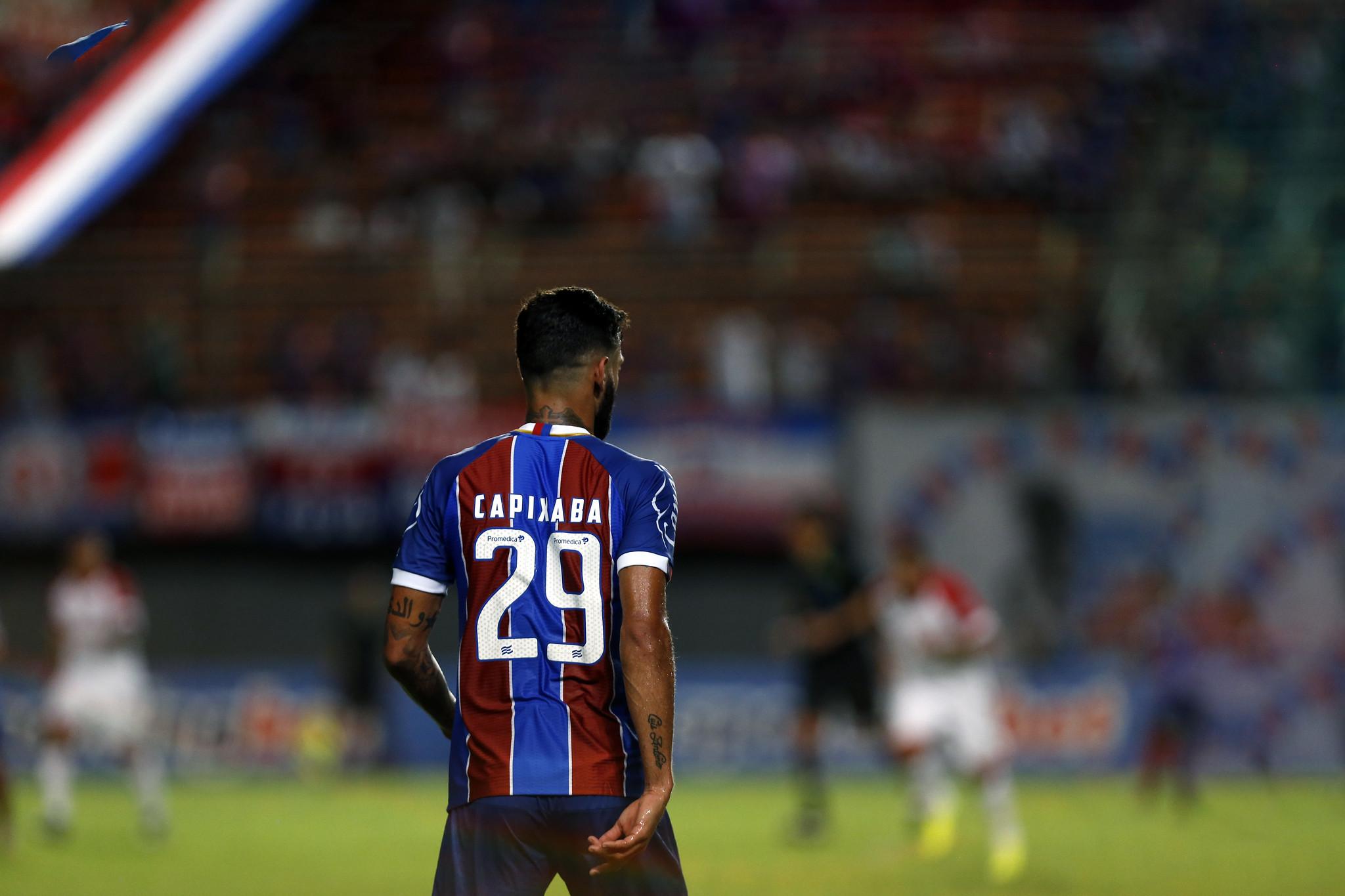Juninho Capixaba deu sua primeira assistência no ano contra o Imperatriz, servindo Gilberto para o primeiro gol do Bahia no ano