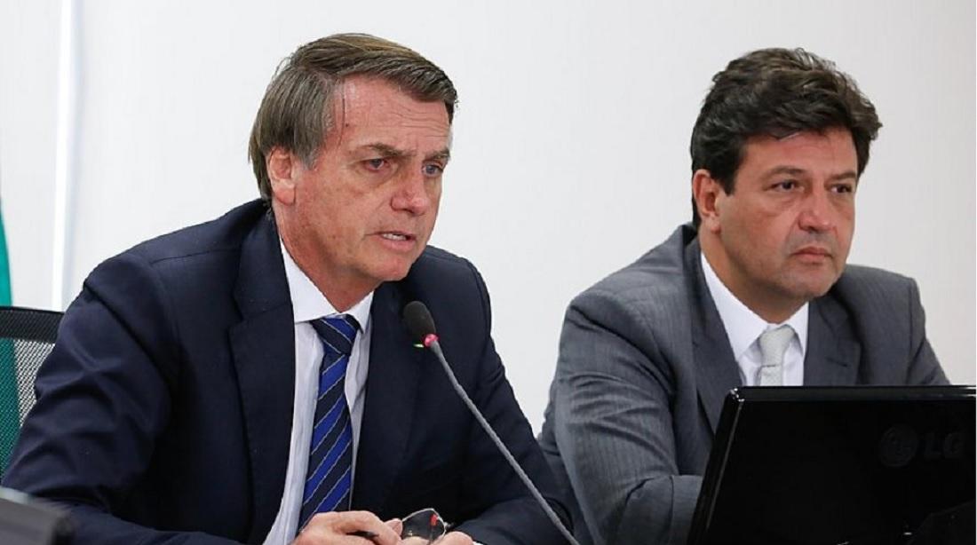 Bolsonaro criticou o ministro da Saúde e aumentou a tensão na crise do Covid-19
