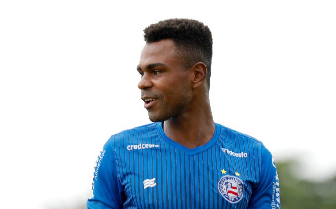 O zagueiro Wanderson foi titular nas duas últimas partidas do Bahia da temporada