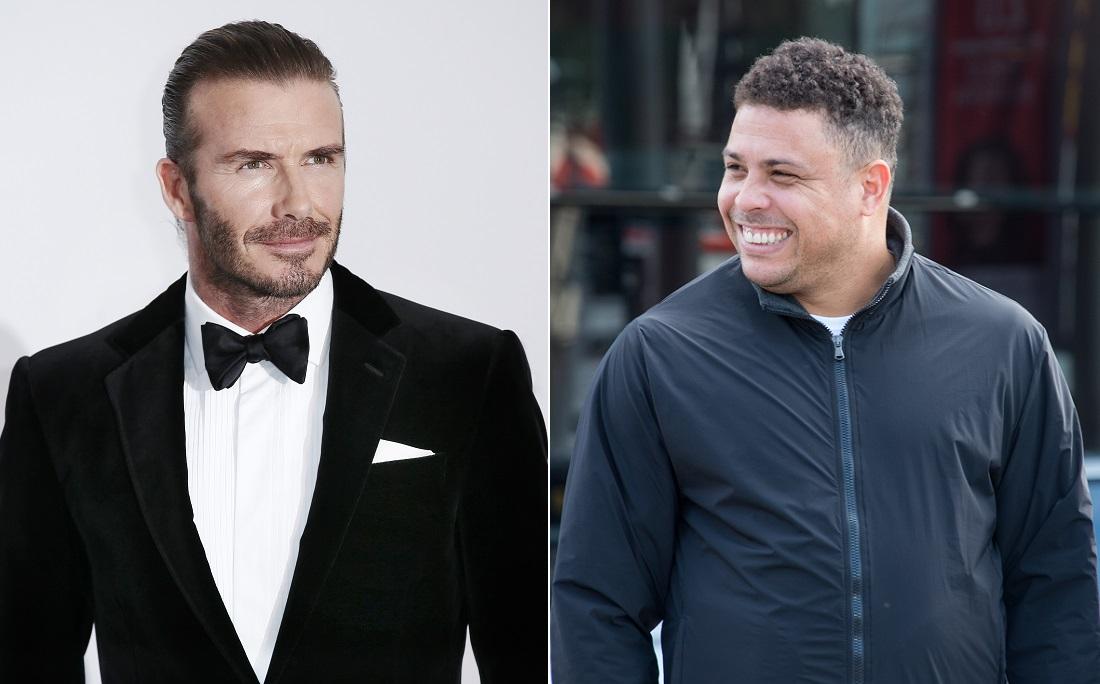 """Beckham foi chamado de """"homão da p****"""" por Ronaldo"""