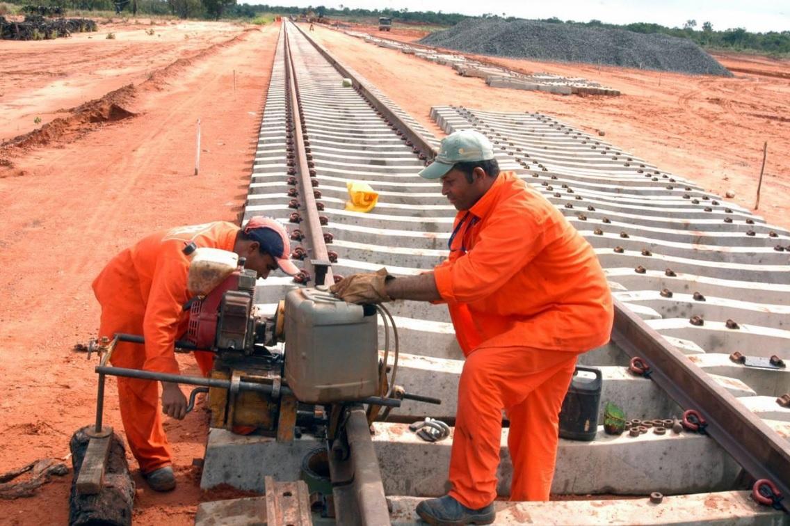 Ferrovia vai ligar litoral baiano ao Centro-Oeste do Brasil