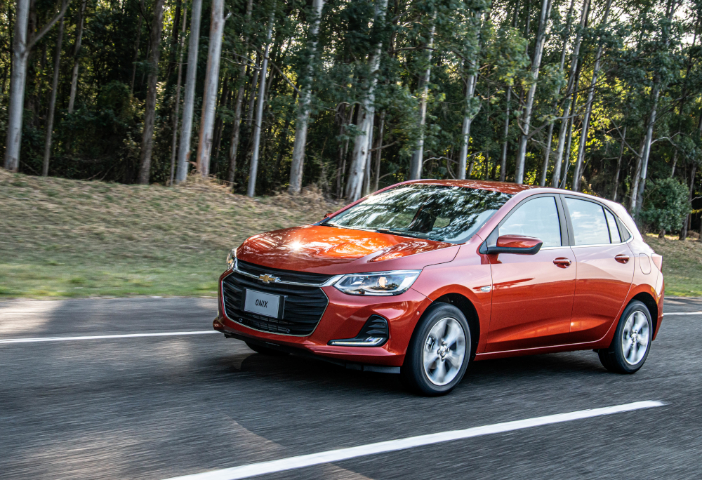 A primeira revisão do Chevrolet Onix custa R$ 284
