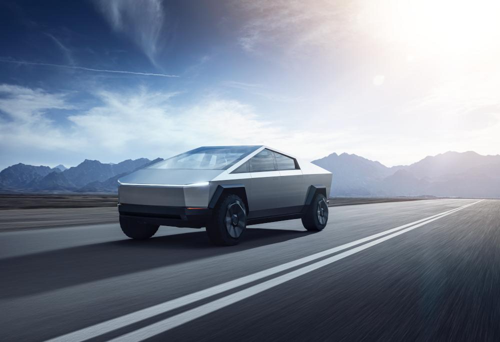 A Cybertruck, da Tesla, surgiu em dezembro do ano passado
