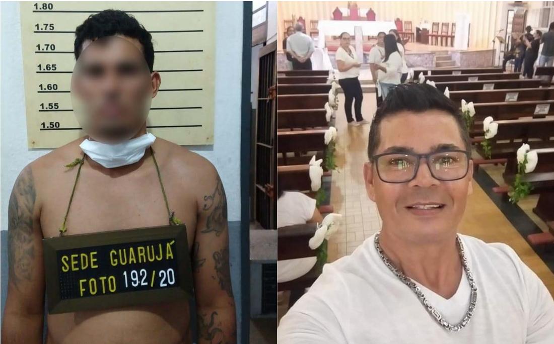 Vítima (à direita na foto) ficou dois dias desaparecida; pela lei, polícia não pode divulgar rosto e nome de suspeitos