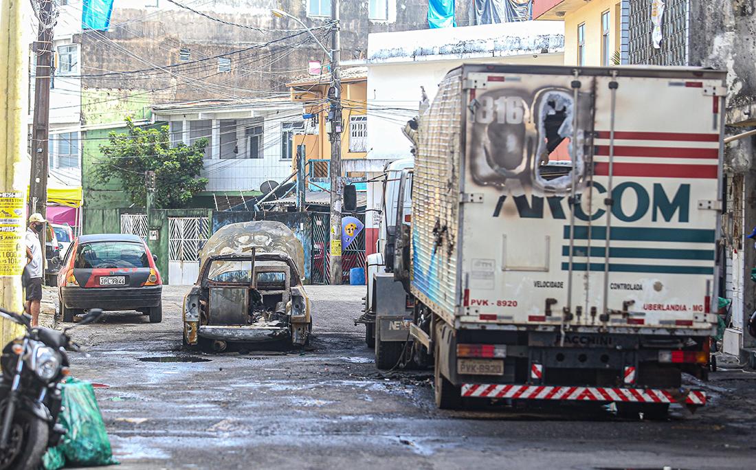 Segundo a polícia, os cinco suspeitos que morreram no confronto eram traficantes da facção Bonde do Maluco (BDM).