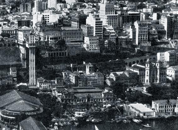 Fotografia aérea de Anthony Roy Worley, publicada em 1959