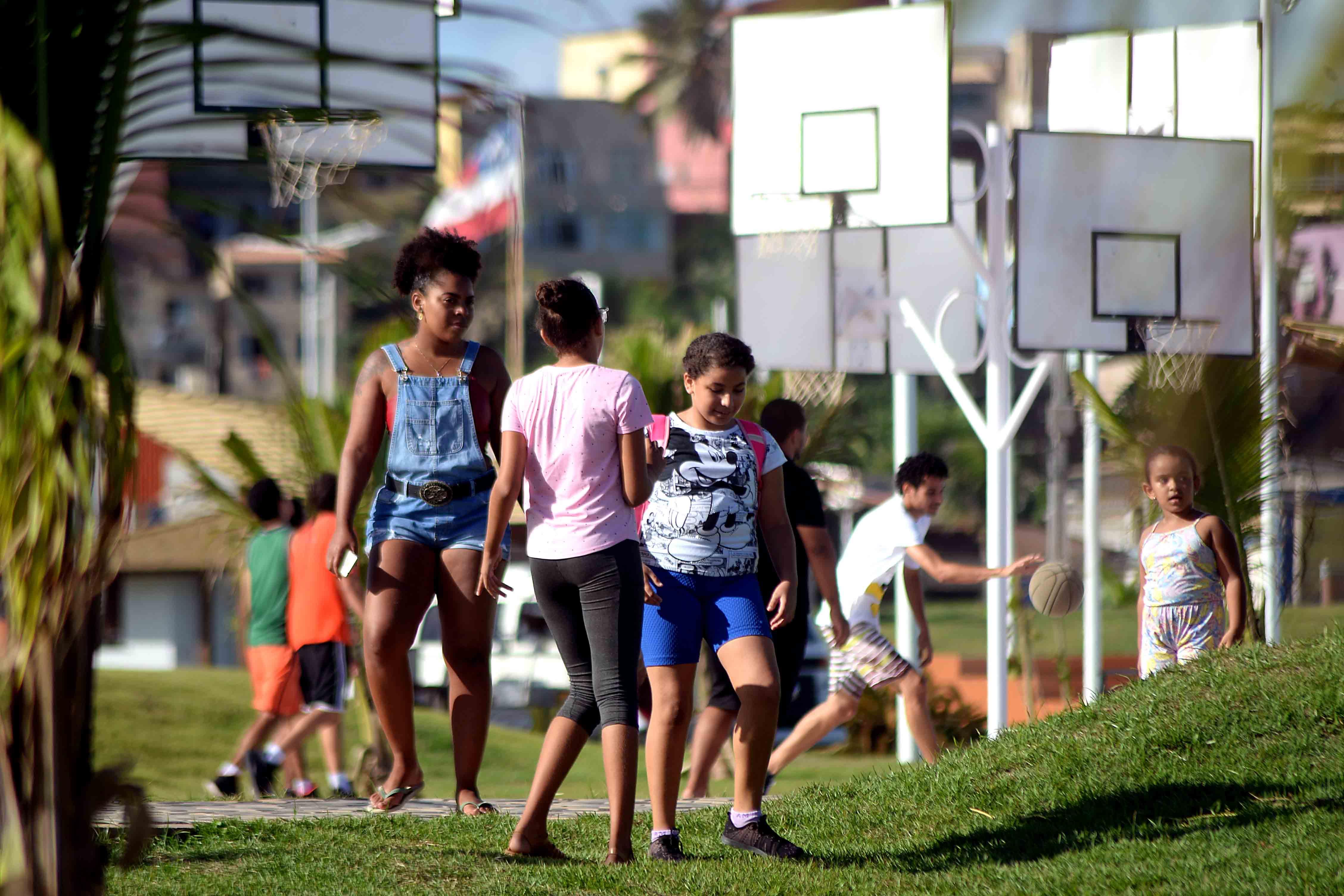 Parque dos Ventos, na Boca do Rio