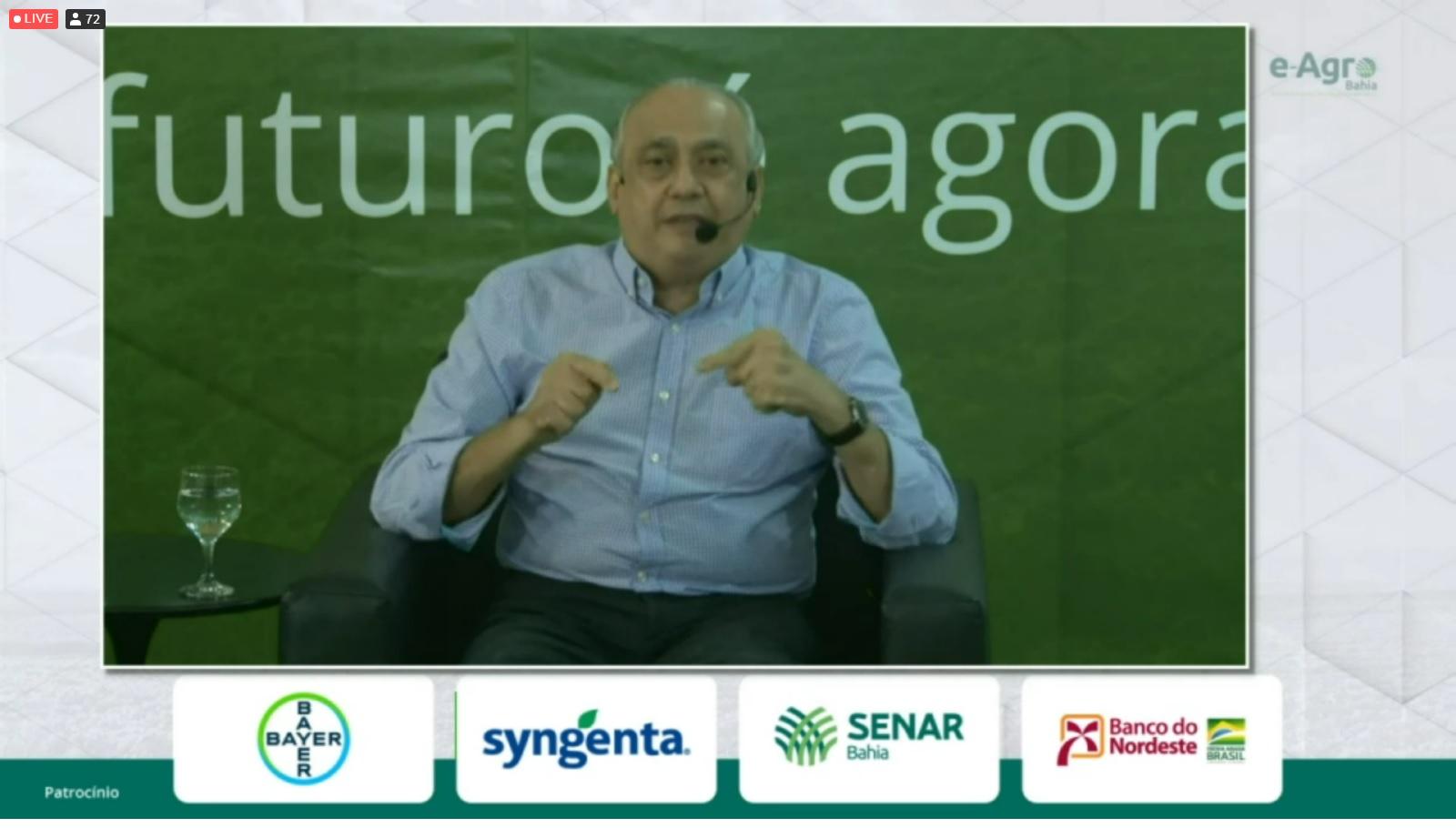 Superintendente do Sebrae Jorge Khoury destaca importância do agro