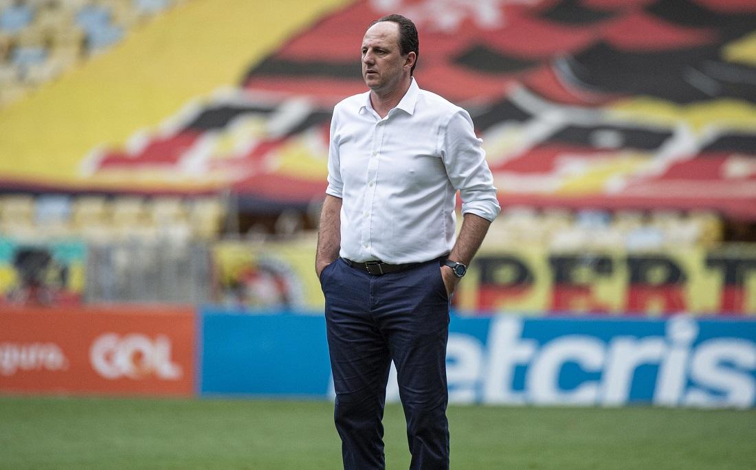Rogério Ceni, técnico do Flamengo