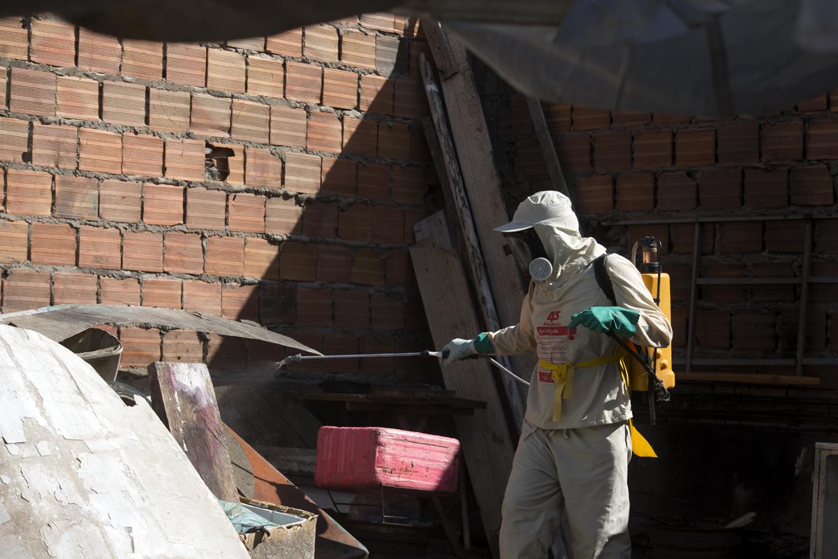 Prefeitura pede que população ajude a combater a proliferação do Aedes aegypti.