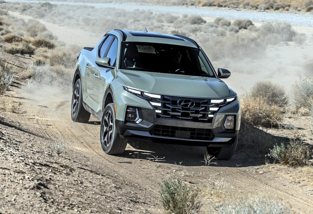 A primeira picape da Hyundai terá estrutura monobloco, como Fiat Toro e Renault Duster Oroch