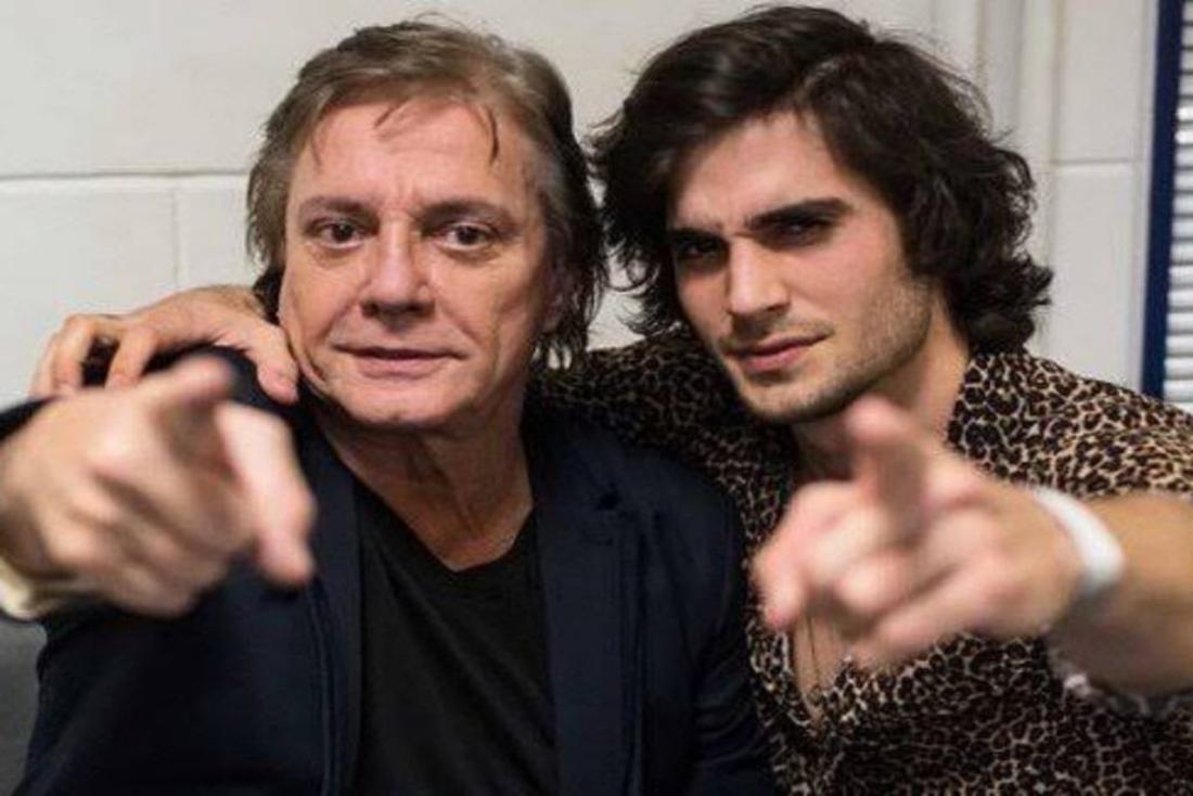Fábio Jr. e o filho Fiuk
