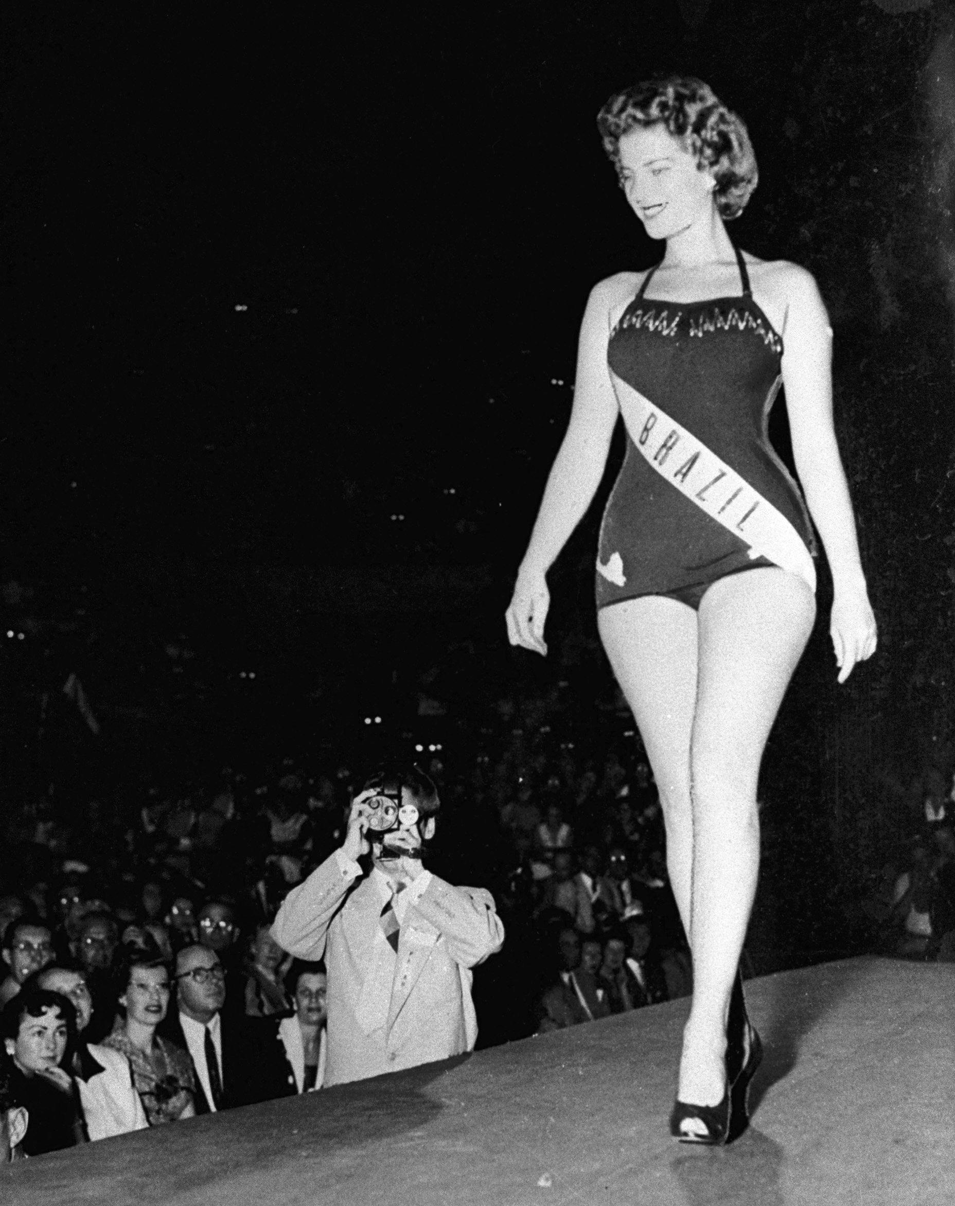 Martha Rocha no Miss Universo