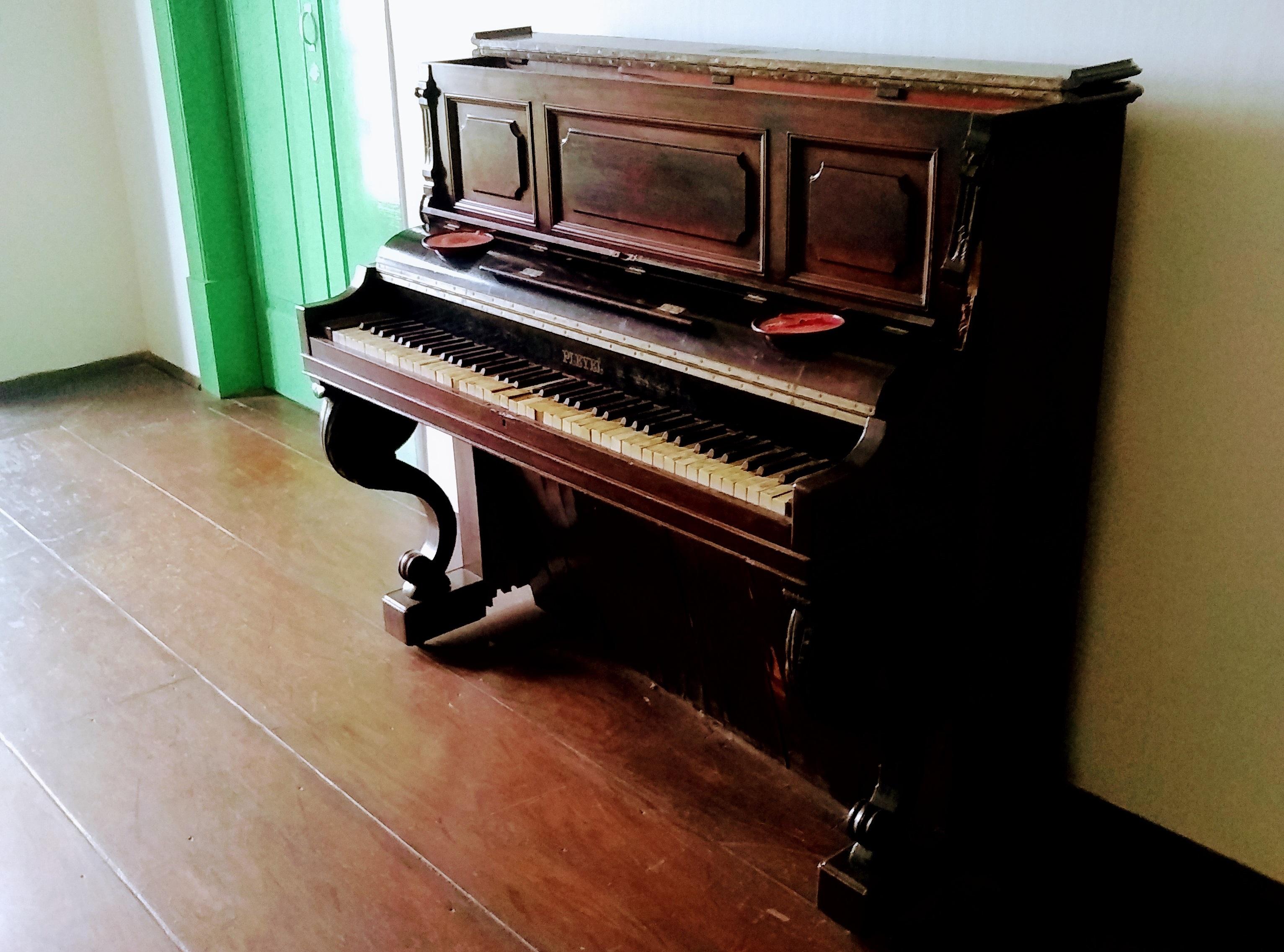 A marca foi criada em 1807 pelo francês Inacio Pleyel. Era a preferida de Frédéric Chopin. Modelos parecidos à venda na internet hoje por até R$ 6 mil