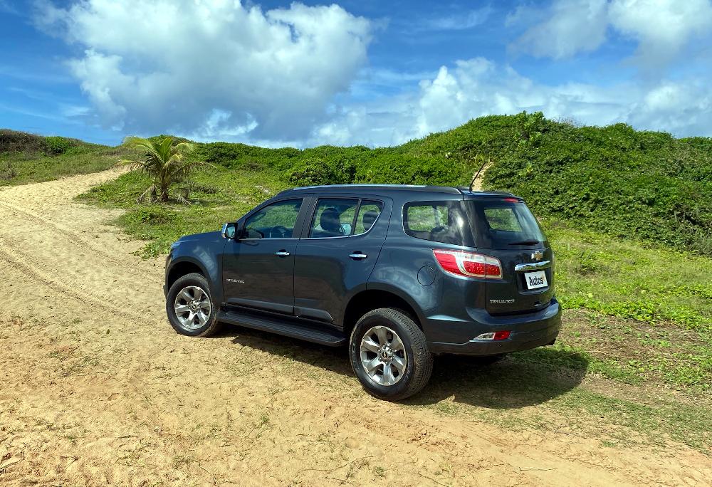 O veículo da Chevrolet concorre com o Mitsubishi Pajero Sport e com o Toyota SW4