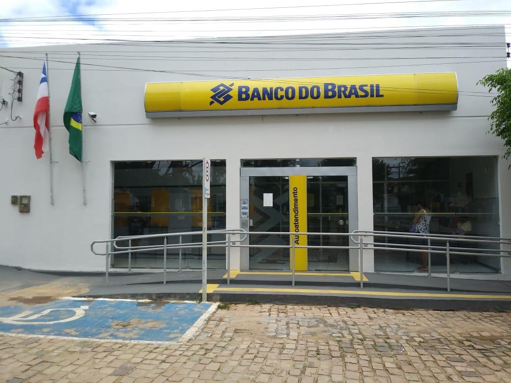 Antiga agência do Banco do Brasil no município de Caem