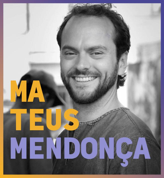 imagem do palestrante do agenda bahia seminário cidades Mateus Mendonça
